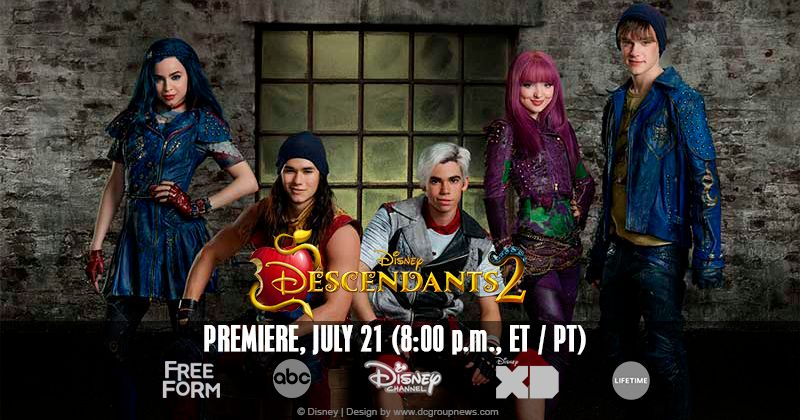 Disney's Descendant's 2 premieres Friday, July 21