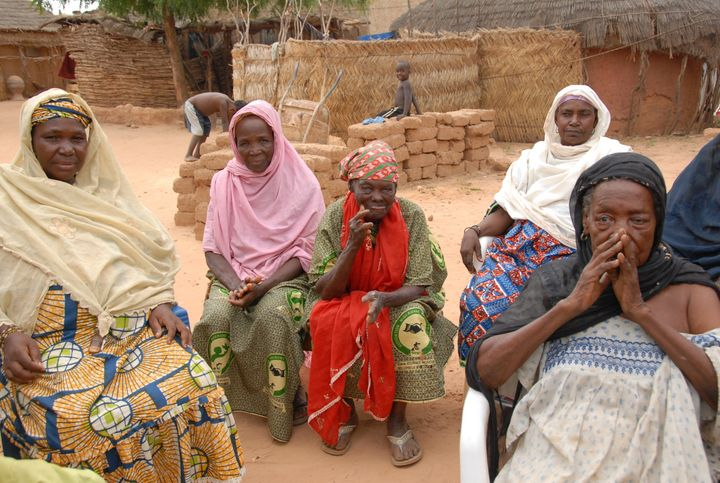 Leprosy village in  Republic of Niger, 2008