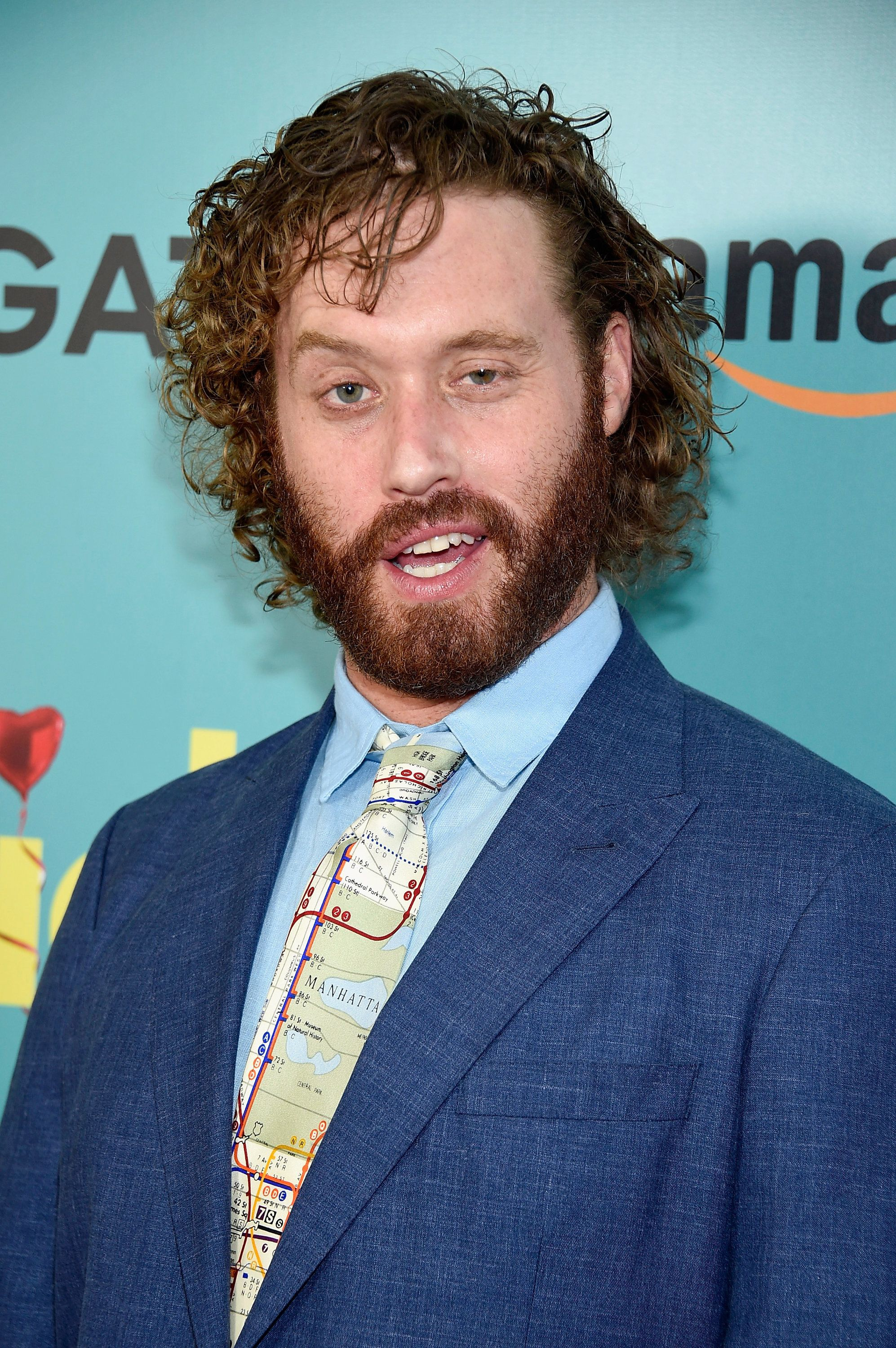 NEW YORK, NY - JUNE 20:  T.J. Miller attends 'The Big Sick' New York Premiere at The Landmark Sunshine Theater on June 20, 2017 in New York City.  (Photo by Dimitrios Kambouris/Getty Images)