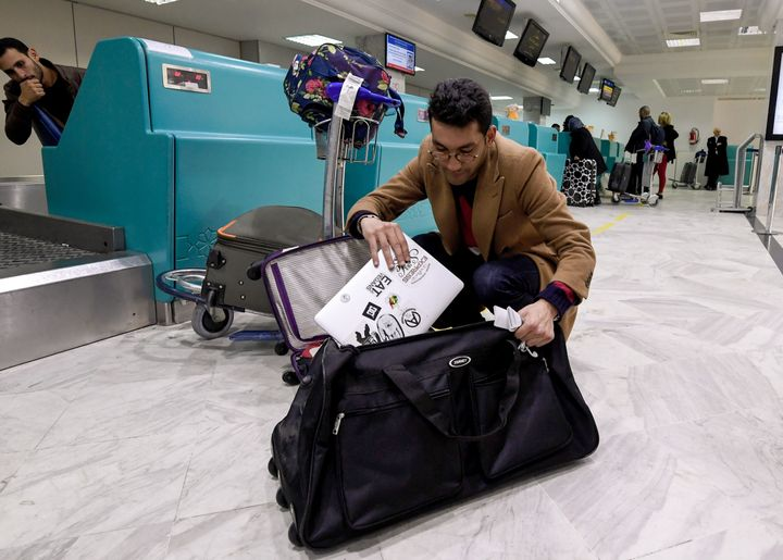 In March, the United States announced a ban on all electronics larger than a standard smartphone on board direct flights out