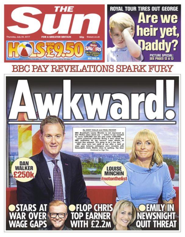 BBC Breakfast Presenter Dan Walker Shuts Down Sun Front Page About His