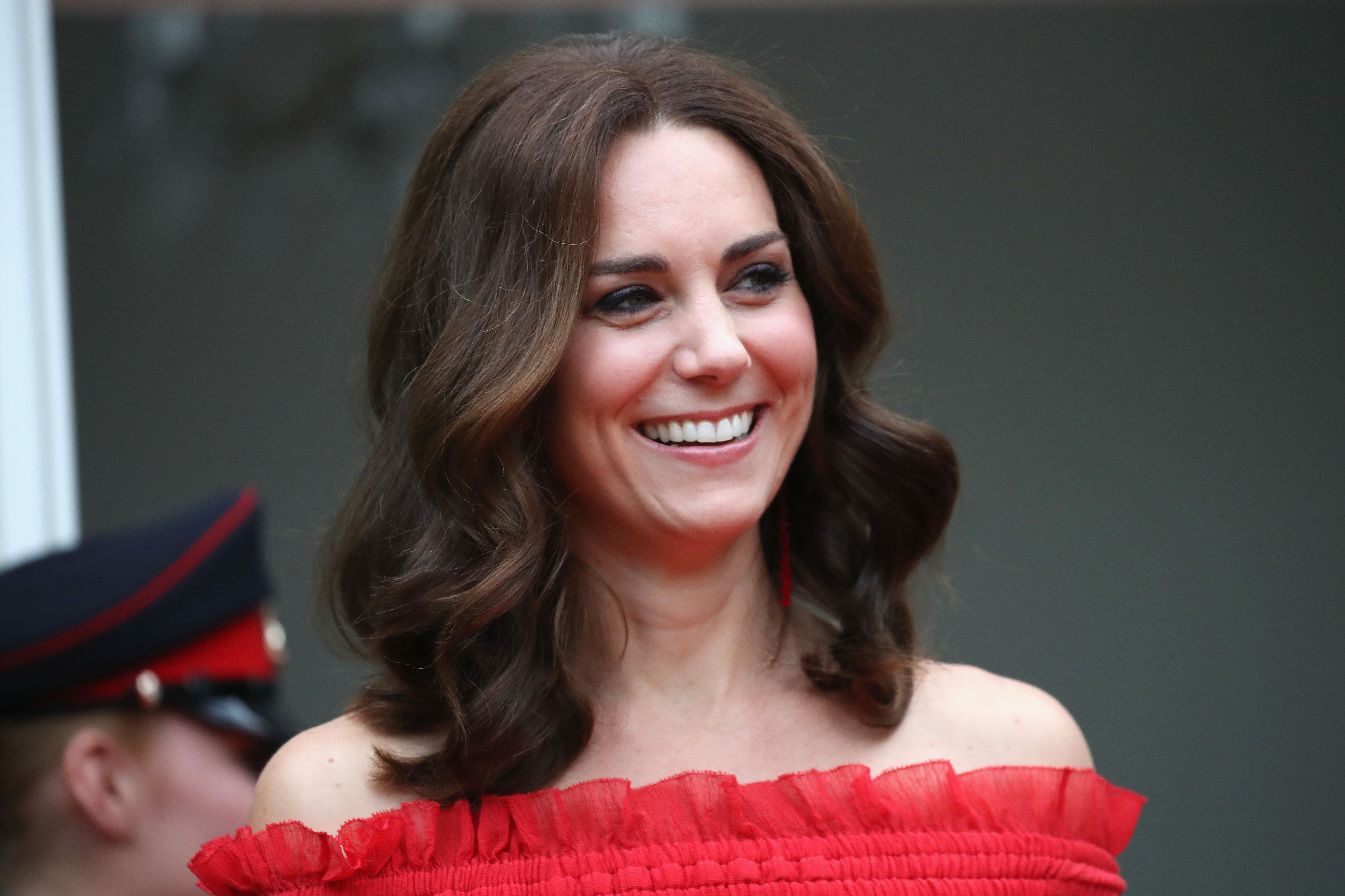 The Duchess Of Cambridge Makes A Bold Style Statement In Off-The-Shoulder Alexander