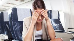 Plane Passenger Turns Woman's Blissful Flight Into 'The Set Of A
