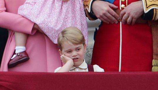 27 expressões faciais do Príncipe George que extrapolam a sua noção de