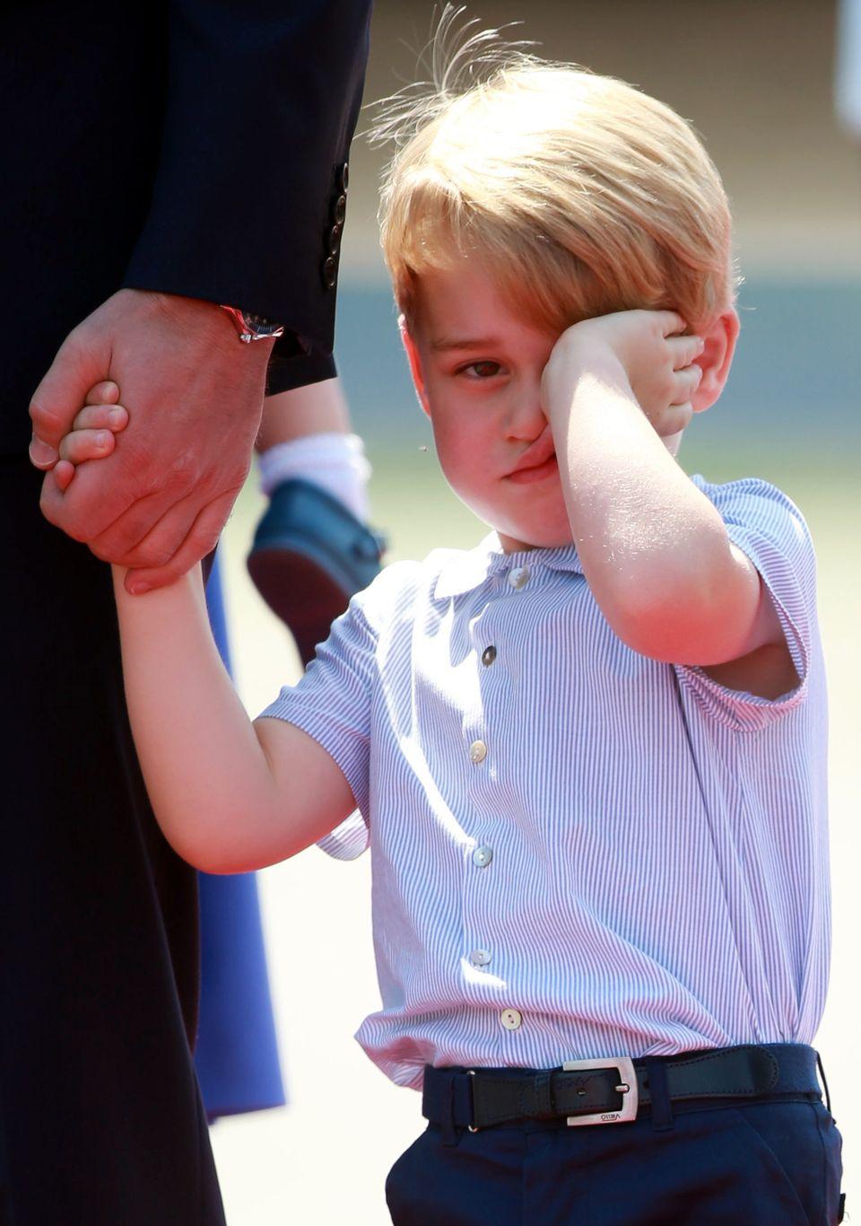 27 fotos do Príncipe George que provam que ele é o membro mais expressivo (e fofo) da Família