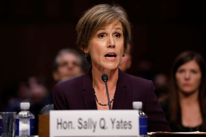 """In May, former Acting Attorney General Sally Yatesthat around the same time,<a href=""""http://www.huffingtonpost.co"""