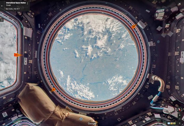 This Is The First 360-Degree Video Of A Spacewalk From The International Space