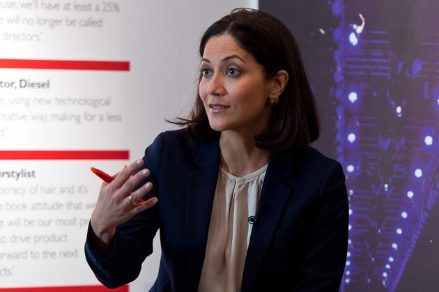 BBC Radio presenter Mishal Husain took her boss to task about the network's pay