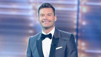 HOLLYWOOD, CALIFORNIA - APRIL 07:  Host Ryan Seacrest speaks onstage during FOX's 'American Idol' Finale For The Farewell Season at Dolby Theatre on April 7, 2016 in Hollywood, California. at Dolby Theatre on April 7, 2016 in Hollywood, California.  (Photo by Kevork Djansezian/Getty Images)