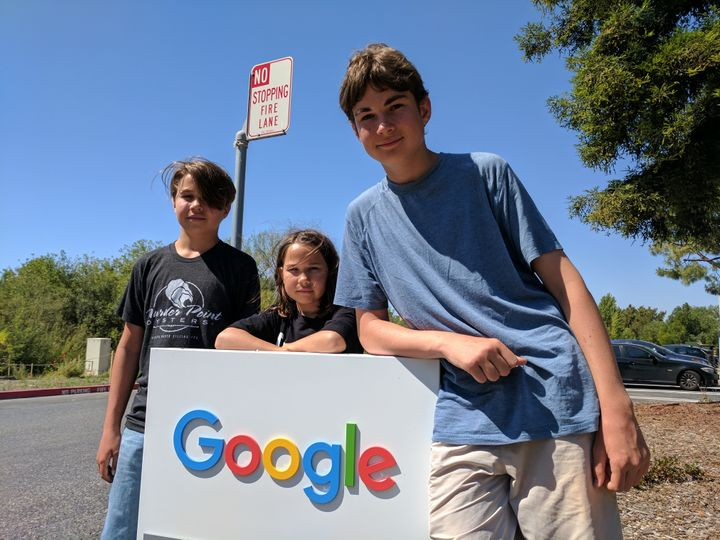 Elliott family at Google