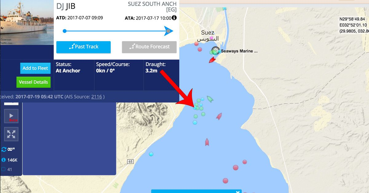 Defend Europe Ship C-Star Detained Near Suez C | HuffPost UK on