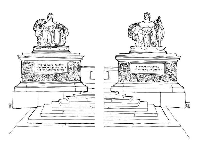 D.C.\'s Architectural Coloring Book   HuffPost