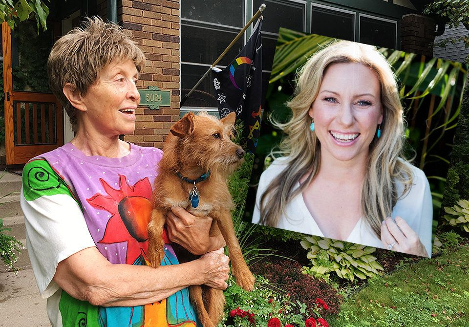 Sharon Sebring said Justine Damond, her son Don's slain fiancee, lived a life of meaning and