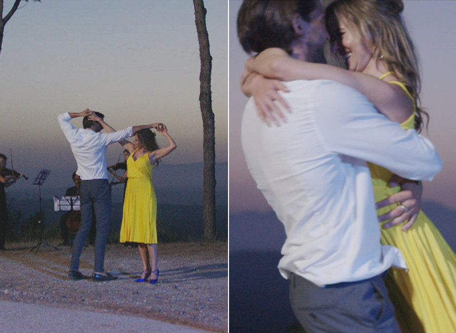 Prepare For Your Heart To Melt As Camilla And Jamie Recreate 'La La Land' On 'Love