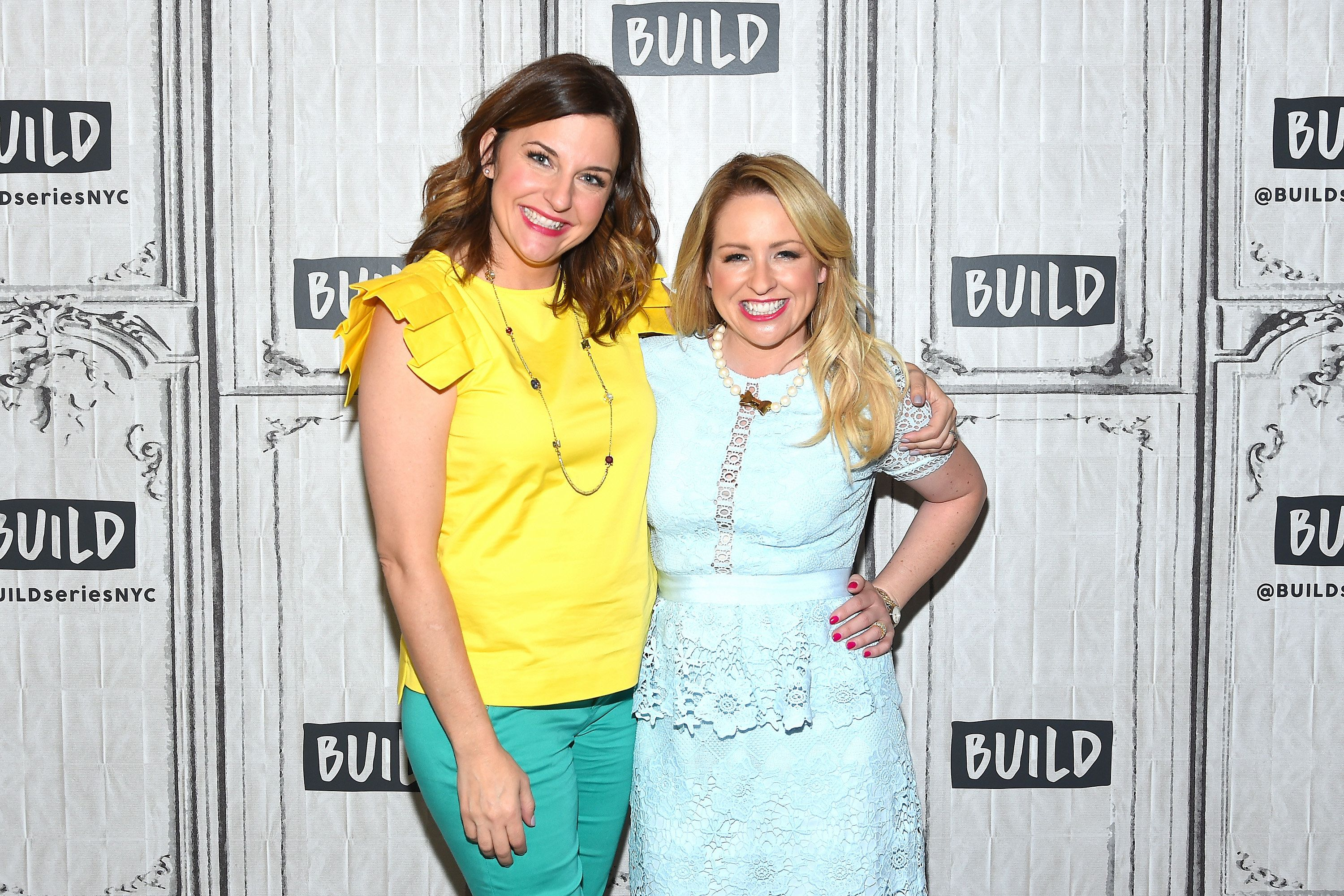NEW YORK, NY - JULY 19:  Actresses Kristin Hensley (L) and Jen Smedley attend the Build Series to discuss their Summer Break Show Tour #IMOMSOHARD at Build Studio on July 19, 2017 in New York City.  (Photo by Ben Gabbe/Getty Images)
