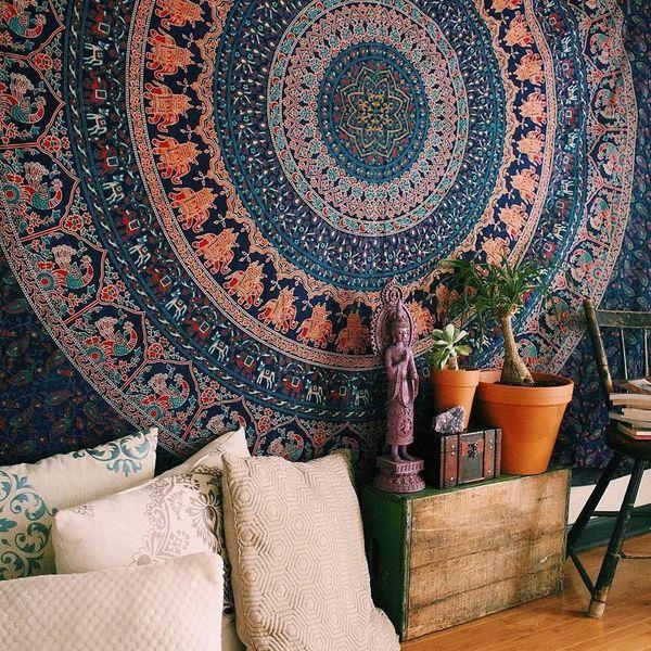 "<strong><a href=""http://www.ebay.com/itm/Tapestry-Bohemian-Twin-Size-Throw-Mandala-Indian-Dorm-Decor-Ethnic-Bedspread-Art/142"