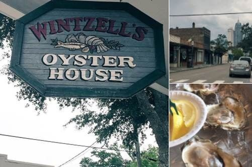 Wintzell's Oyster House, Mobile, Ala.