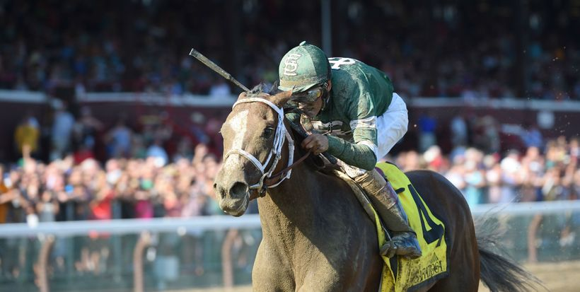 <strong>Sweet Loretta winning the 2016 Schuylerville Stakes.</strong>