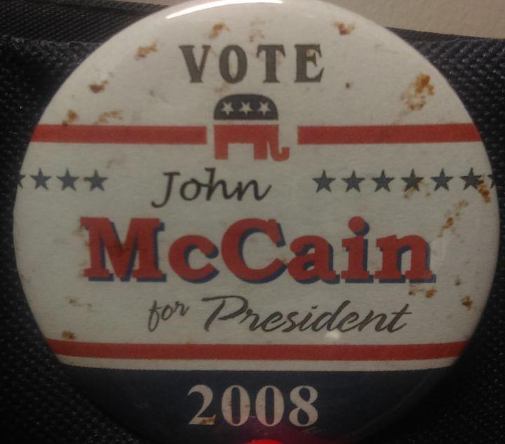 John McCain ran a strong race in 2008,