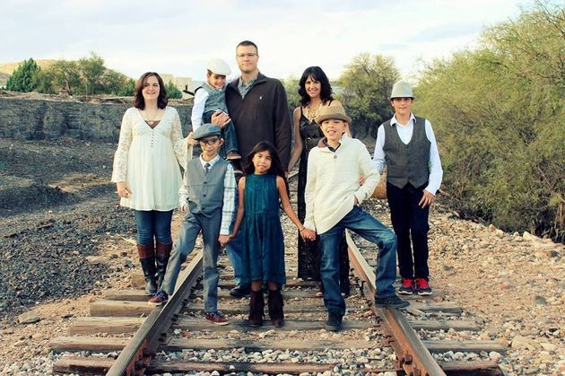 The Arizona nurse and her husband have six children, four of whom are adopted and have special