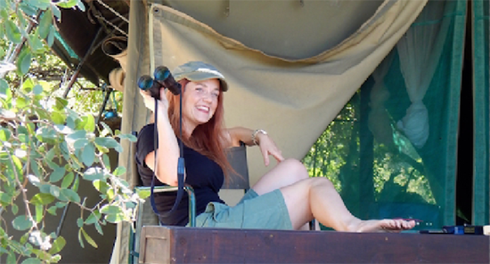Bobbie Rich in Botswana, Africa