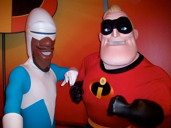 Frozone & Hopkins as Mr. Incredible