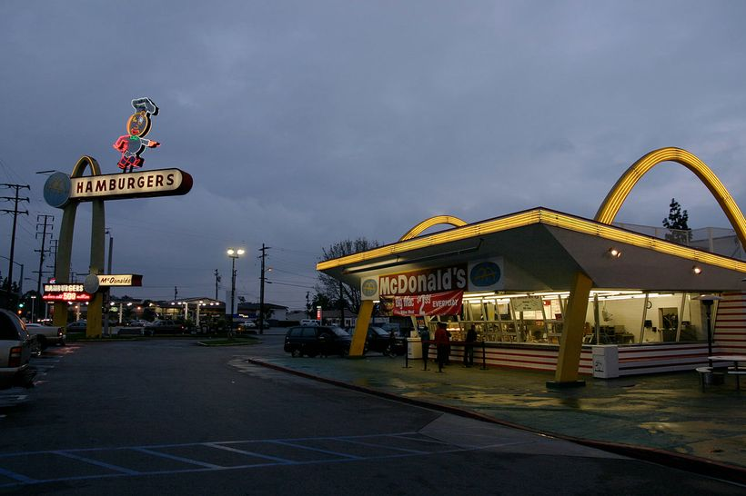 Classic:  America's oldest operating McDonald's, built in 1953 in Downey, CA, the third in an eventual chain of  thousands.