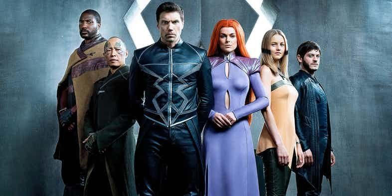 Marvel Entertainments newest series Inhumans premieres Sept 29 on ABC The first two episodes of the series will be shown on IMAX theaters starting Sept 1