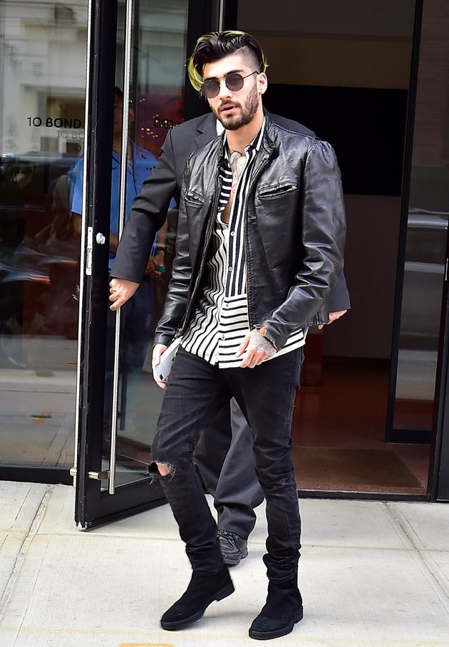 Zayn in New York earlier this