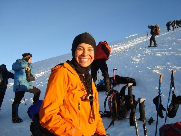 On Mt. Elbrus, Russia 2008