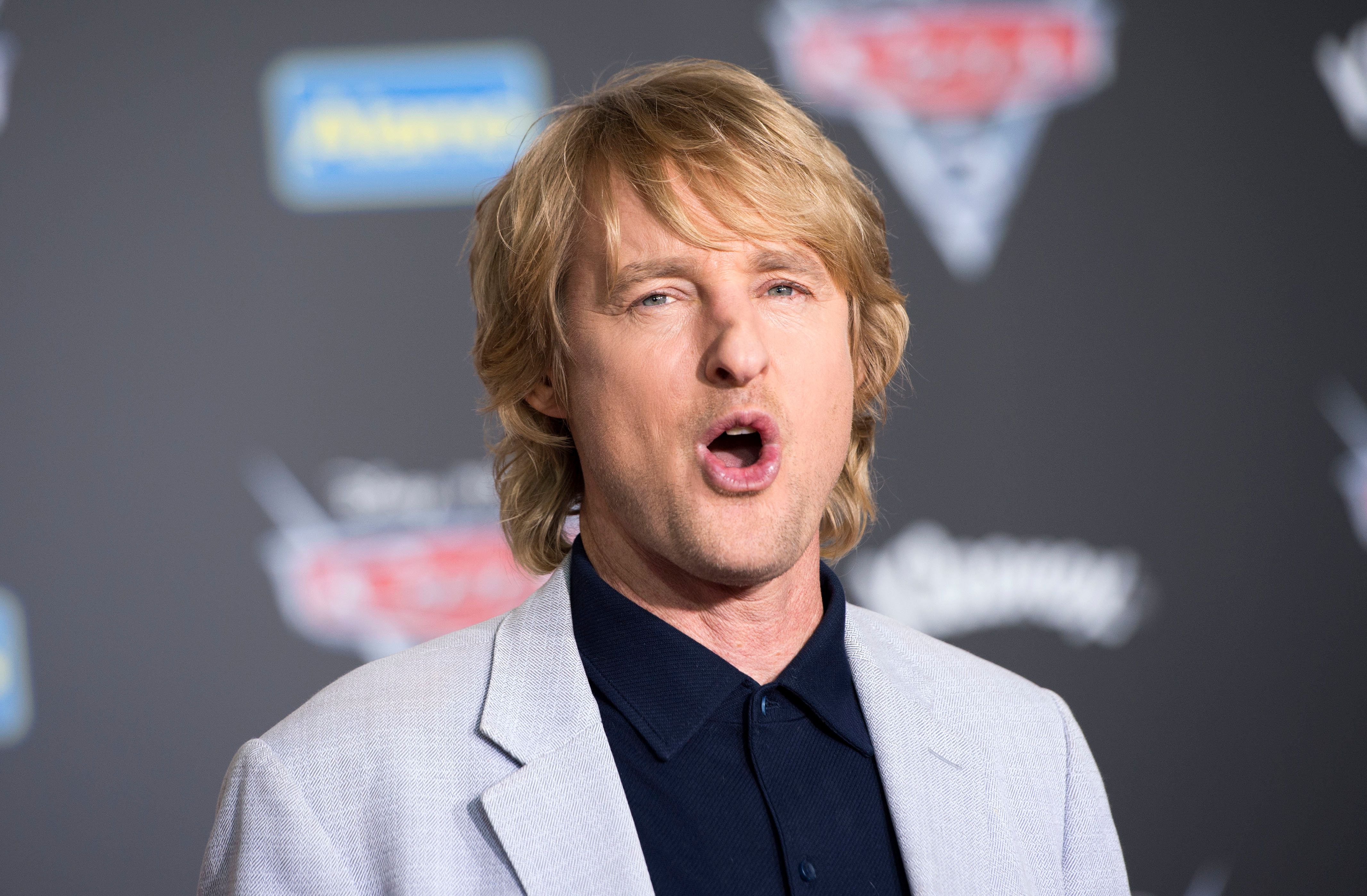 Actor Owen Wilson attends the world Premiere of Disney-Pixar 'Cars 3' at the Anaheim Convention Center, on June 10, 2017, in Anaheim, California. / AFP PHOTO / VALERIE MACON        (Photo credit should read VALERIE MACON/AFP/Getty Images)