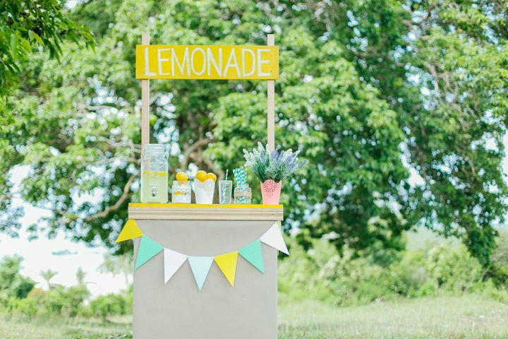 <strong>Andre Spicer's daughter's lemonade stall was short-lived (file picture)</strong>