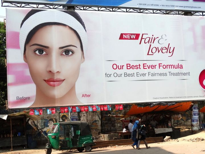 In India, a light complexion is associated with power, status and beauty, fueling an innovative and growing market of skin-bl