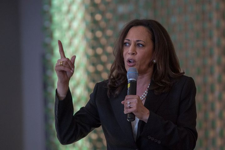 Sen. Kamala Harris' first piece of major legislation is dedicated to bail refrom.