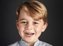 Prince George Looks Grown Up In Official Portrait To Celebrate His 4th Birthday