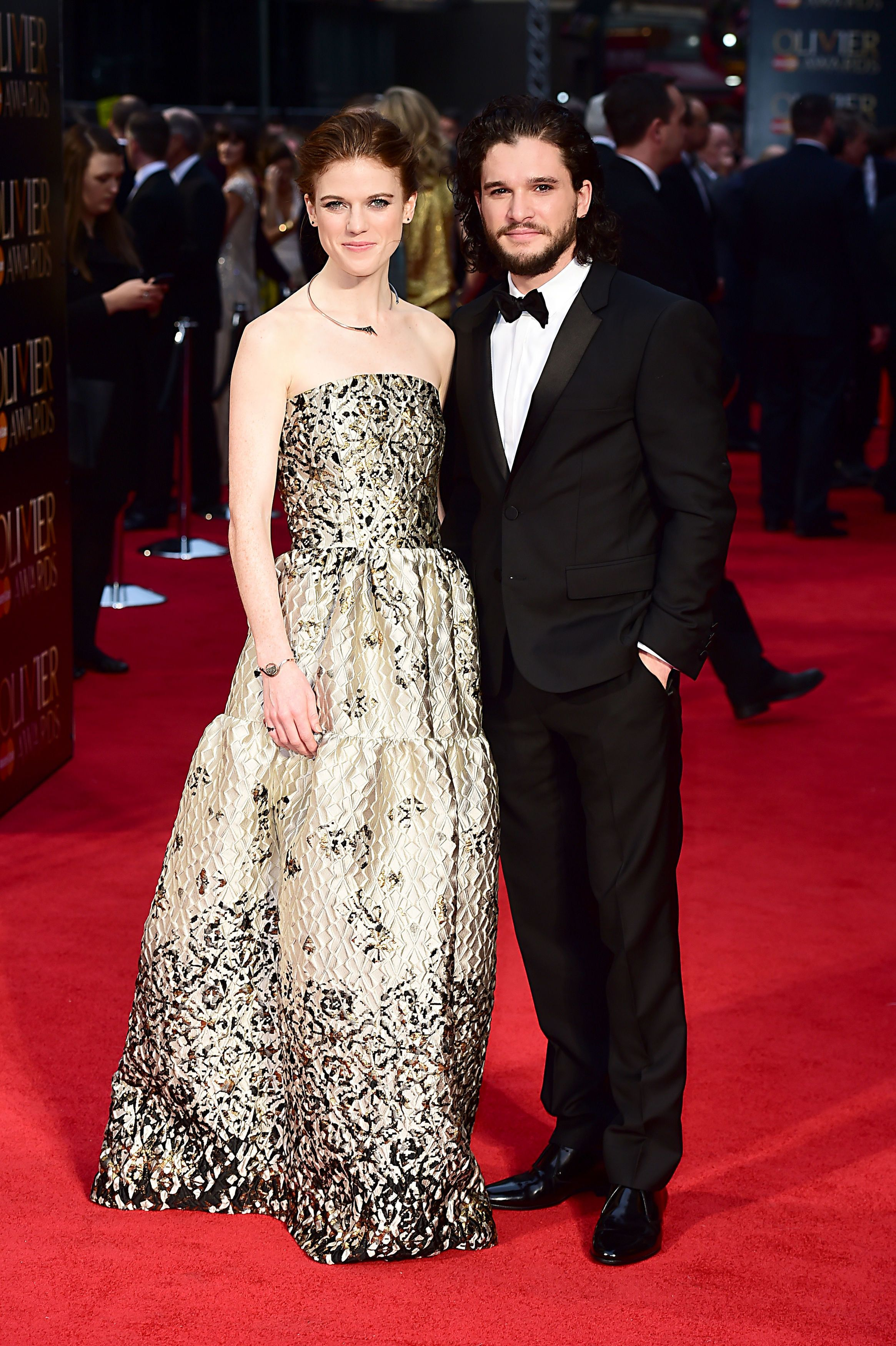 Kit harington admits dating rose leslie