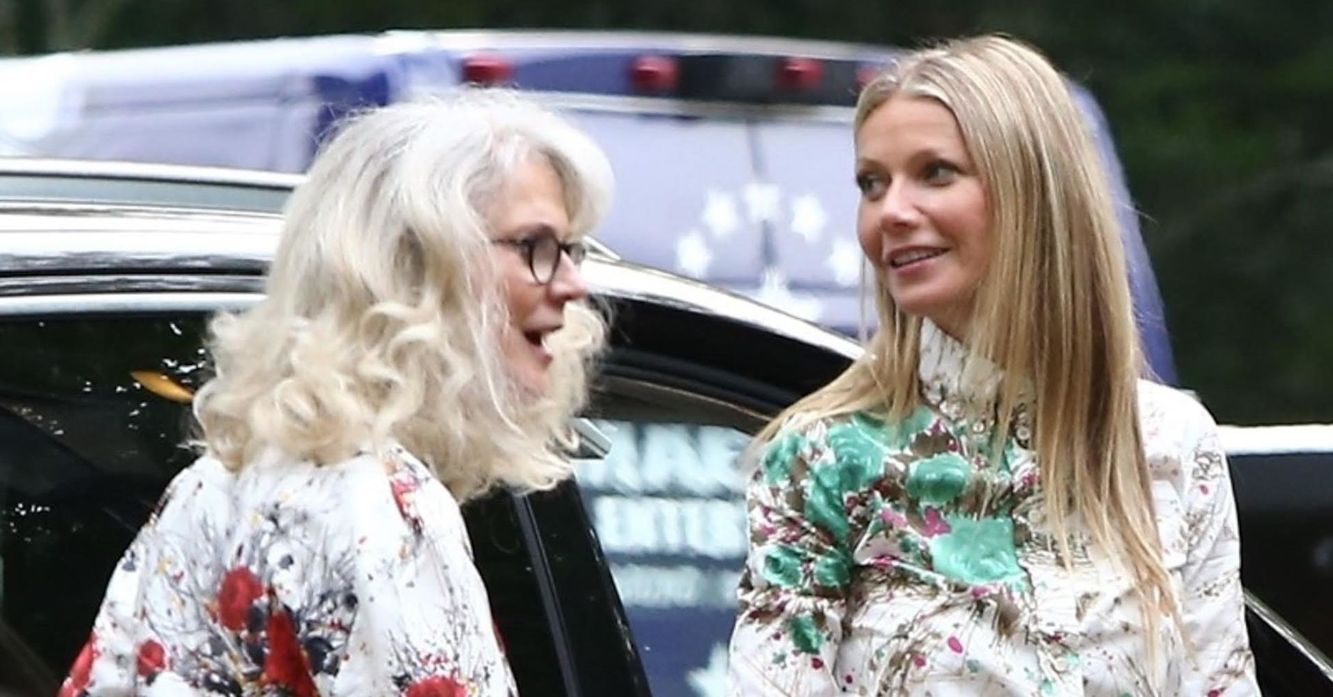 Gwyneth Paltrow And Blythe Danner Wear The Matching Outfits Of Our Nightmares  Huffpost-8076