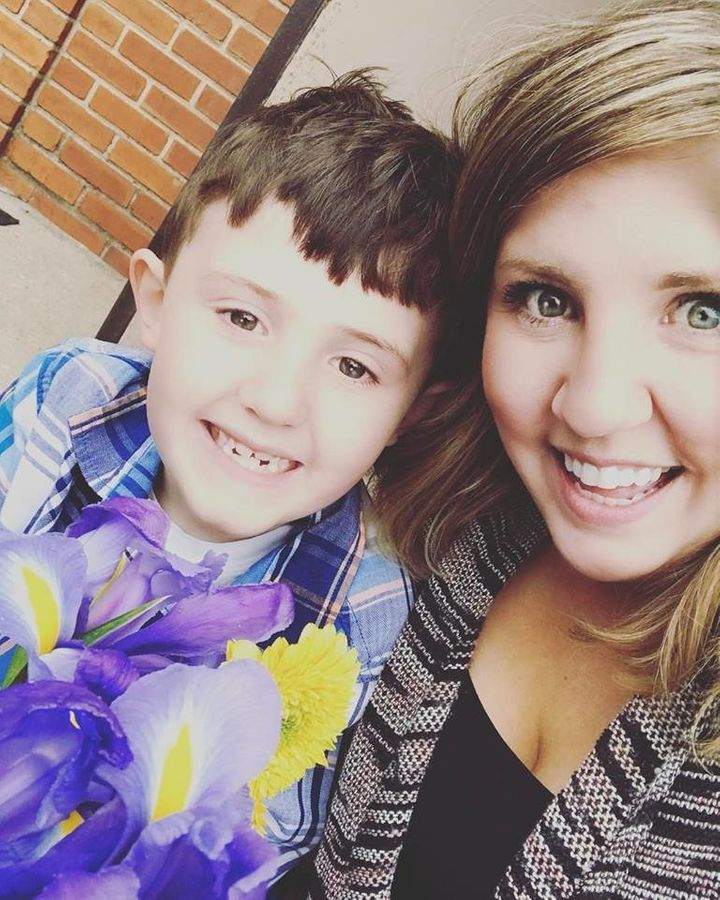 Shelby Eckard has a 7-year-old son and 3-year-old daughter.