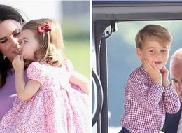 Prince George And Princess Charlotte Steal The Limelight During Final Stop Of Royal Tour