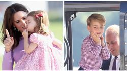 Prince George And Princess Charlotte Steal The Limelight During Final Stop Of Royal