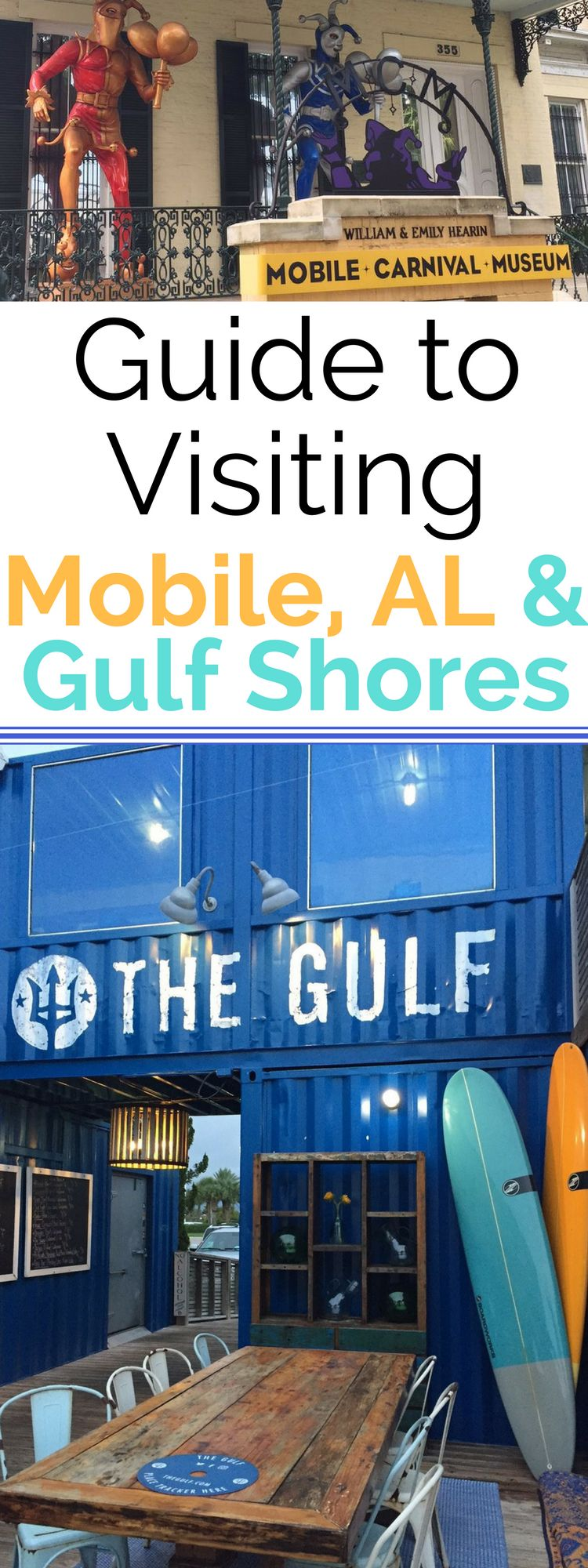Tips for Visiting Mobile, Alabama and Gulf Shores - where to eat, stay and what to do!