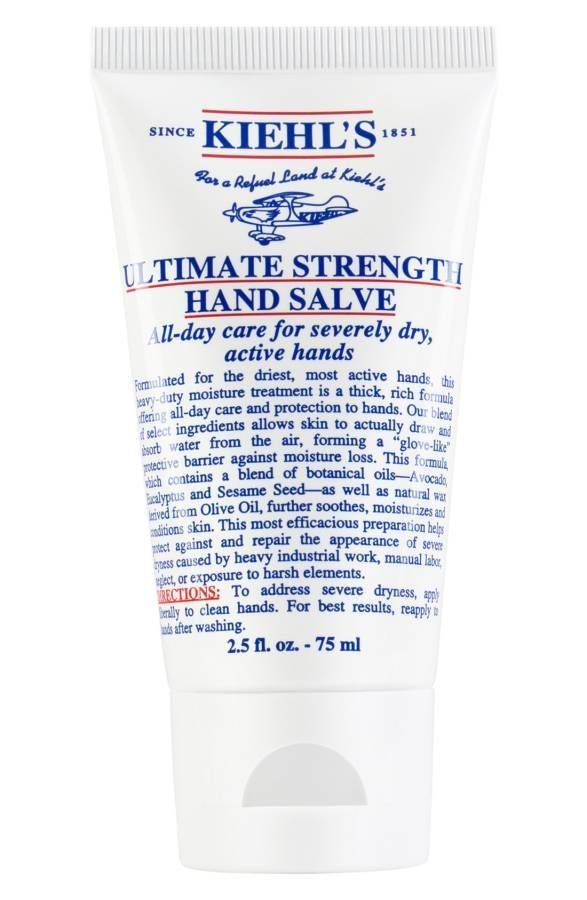 """This heavy-duty moisture treatment is formulated for the driest hands. <a href=""""http://shop.nordstrom.com/s/kiehls-since-1851"""