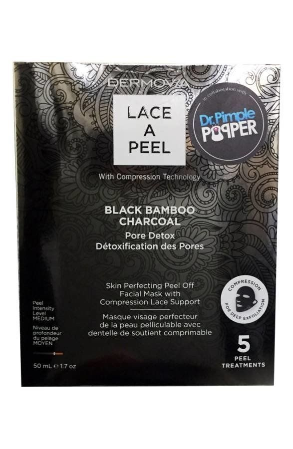 Bamboo charcoal is known for its ability to deep cleanse and pull debris from skin to prevent breakouts. The Peel Paste is us
