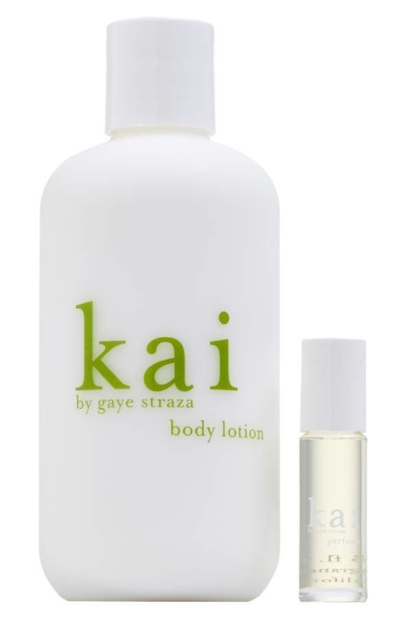 """Scented with gardenia wrapped in white exotics. <a href=""""http://shop.nordstrom.com/s/kai-perfume-oil-lotion-set-85-value/4043"""