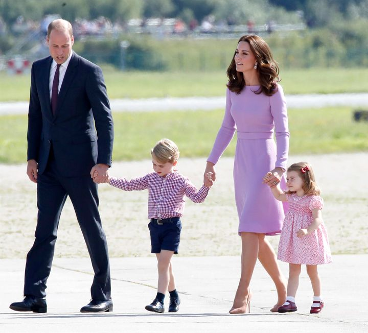 Prince George Clearly Has A Favorite Pair Of Shorts
