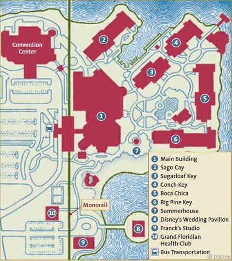 <p>Grand Floridian Map</p>