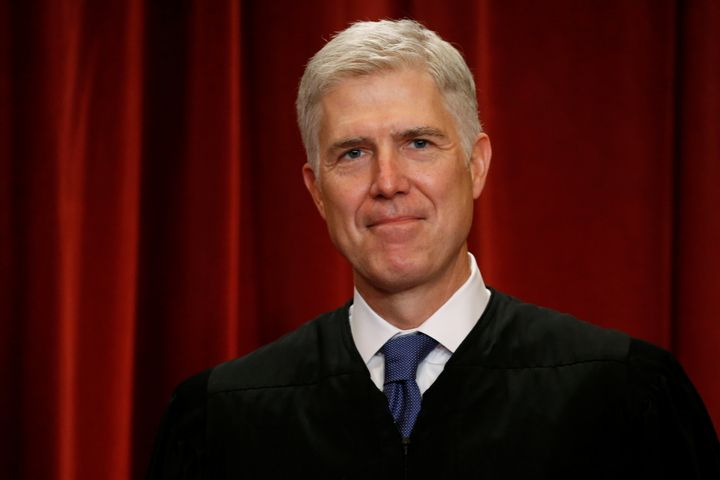 He better be thinking about chocolate chip cookies! Neil Gorsuch will be joining the Supreme Court cafeteria committee.
