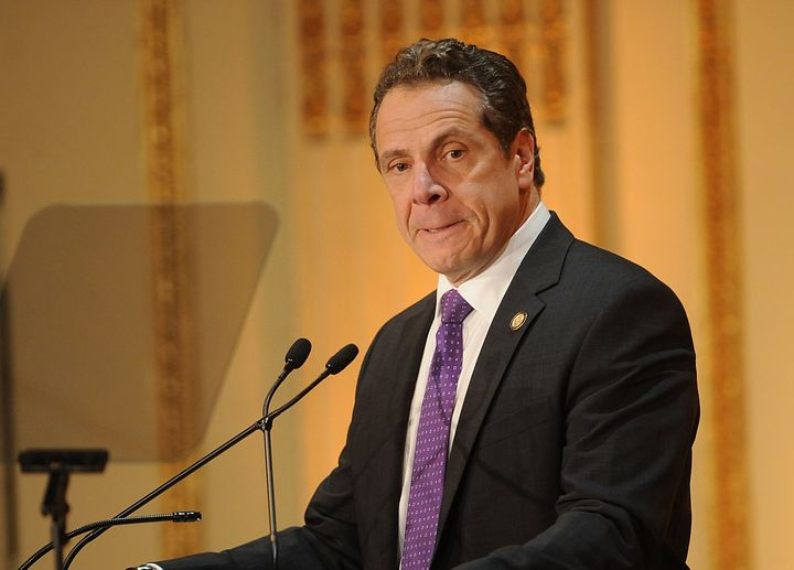 New York Gov. Andrew Cuomo has called for stricter reductions of carbon emissions.