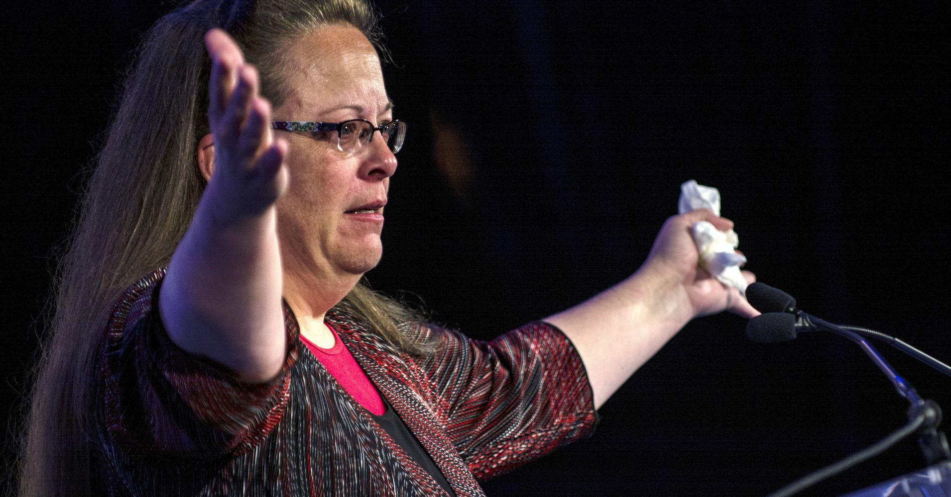 Kim Davis screws Kentucky taxpayers
