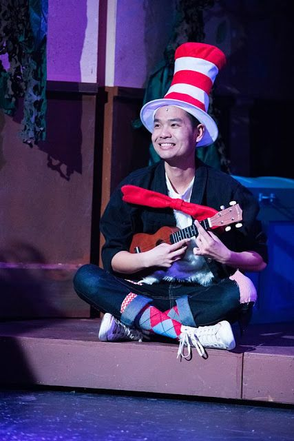 Vinh Nguyen as The Cat in the Hat in <strong><em>Seussical the Musical</em></strong>